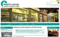 The Priest's House Museum & Garden is located in the heart of the beautiful market town of Wimborne Minster.